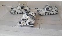 Танк Т-90 'Владимир' Зимний камуфляж в масштабе 1:43 (Под заказ), масштабные модели бронетехники, scale43, Неизвестный производитель