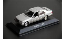 Mercedes Benz W140 S class 500 SE 1991 IXO 1/43, масштабная модель, IXO (Altaya), scale43, Mercedes-Benz