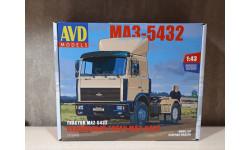 МАЗ-5432 поздний, сборная модель автомобиля, AVD Models, 1:43, 1/43