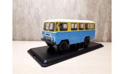 Армейский автобус АПП-66, жёлто-синий