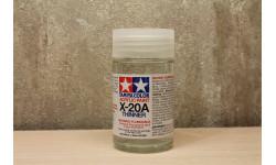 Растворитель для акриловых красок 46 мл., X-20A, фототравление, декали, краски, материалы, Tamiya, scale0