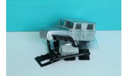 Кабина УРАЛ от АЦ-7,5-40, сборная модель автомобиля, Автомобиль в деталях (by SSM), scale43