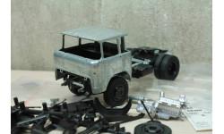 КАЗ-608 седельный тягач Сборная модель