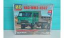 КАЗ-ММЗ-4502 самосвал сборная модель, сборная модель автомобиля, Автомобиль в деталях (by SSM), 1:43, 1/43