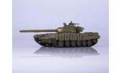 Танк Т-72Б, журнальная серия масштабных моделей, Наши Танки, 1:43, 1/43