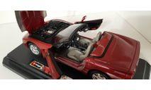 Chevrolet Corvette / 1:24 / Bburago, масштабная модель, scale24