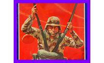 1/10 продажа сборной модели парашютиста десантника США большой красивый Гленко моделс, фигурка, фигура солдата, коллекция Новостройки СПб, scale10