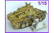 1/15 продаю сборную модель танка Т-3М Панцер 3М Германия Вторая Мировая война, смола Верлинден 1071 в большом масштабе 1/15, сборные модели бронетехники, танков, бтт, коллекция Новостройки СПб, scale16