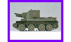 1/35 продажа модели танка 114 мм САУ БТ-42 Финляндия Вторая мировая война, металлический стволик гаубицы