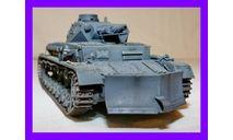 1/35 продажа модель танка Т-4 Б Панцеркампфваген 4Б с бульдозерным отвалом Германия 1938 год, масштабные модели бронетехники, коллекция Новостройки СПб, scale35