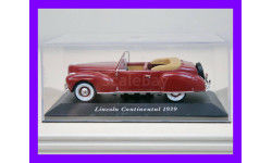 1/43 Lincoln Continental 1939 IXO-Altaya