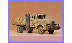 1/35 продаю модель автомобиля Опель Блитц газогенераторного грузового Германия 1940-е