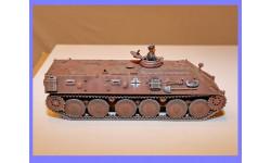 1/35 продаю модель танка бронетранспортер Halbgruppenfahrzeug на базе 38D проект Германия, масштабные модели бронетехники, коллекция Дмитрия Стопского, scale35