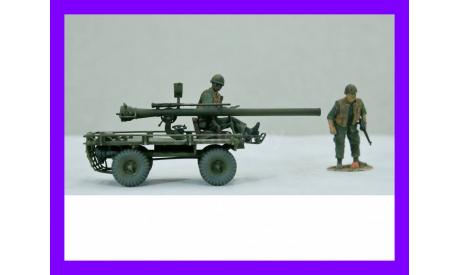 1/35 продажа модели 106 мм САУ на базе автомобиля Виллис М274 Механический мул США 1956-80-е годы, масштабная модель, автомобиль, коллекция Новостройки СПб, scale35