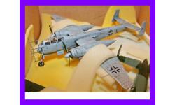 1/48 Хейнкель Хе-219 Уху модель самолета ночного истребителя Германия, масштабные модели авиации, коллекция Новостройки СПб, 1:48