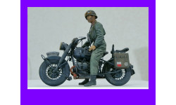 1/9 продаю модель мотоцикла БМВ Р75 с жандармом Германия времен Второй мировой войны, масштабная модель мотоцикла, коллекция Новостройки СПб, scale10