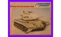 1/35 продажа сборной модели танка М45 со 105 мм гаубицей США смола, конверсия Аккурат армор С076, сборные модели бронетехники, танков, бтт, коллекция Новостройки СПб, 1:35