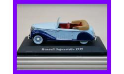 1/43 продажа модели автомобиля Рено Супрастелла 1939 года Иксо Алтайа