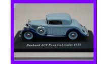 1/43 Panhard 6CS Faux Cabriolet 1935, масштабная модель, автомобиль, коллекция Новостройки СПб, scale43