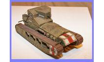 1/35 продажа модели среднего танка Марк А Уиппет 'Сибиряк' времен Гражданской войны в России, масштабные модели бронетехники, коллекция Новостройки СПб, scale35
