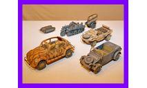 1/35 продажа модели автомобиля КДФ тип 82Е Германия 1942, фигурка, автомобиль, коллекция Новостройки СПб, scale35