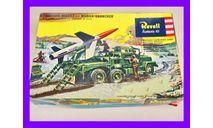1/40 продажа сборной модели оперативно тактической ракеты Мартин МГМ-18 Лакросс ракетного комплекса ИксМ-398 Ревелл 1816, сборные модели артиллерии, танк, коллекция Новостройки СПб, scale35