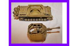 1/35 продаю модель танка 105 мм САУ Гешутцваген III/IV с легкой полевой гаубицей (leFH) образца 18/40 Рейнметал, Германия