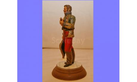 1/16 продаю миниатюру модель фигуры Генерал Антуан ЛаСаль Наполеоновские войны Верлинден № 1140, редкая масштабная модель, коллекция Новостройки СПб, scale16, фигура солдата