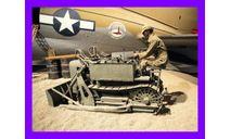 1/35 бульдозер аэродромный маленький США времен Второй мировой войны, сборные модели бронетехники, танков, бтт, коллекция Новостройки СПб, scale35