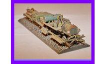 1/35 Продажа модели автомобильной окопной железнодорожной узкоколейной дрезины декавильки Форд-Т с платформами 1916 год Первая мировая война, сборная модель автомобиля, коллекция Новостройки СПб, scale35