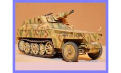 1/35 продажа модели немецкой 75 мм САУ СдКфзет 250-8 Нью с пушкой КВК 37на базе легкого полугусеничного бронетранспортера Германия 1942
