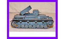 1/35 продажа модели танка РСЗО Ракетенверфер пусковой установки на базе танка Панцер-4 Германия 1944 год, масштабные модели бронетехники, коллекция Новостройки СПб, scale35