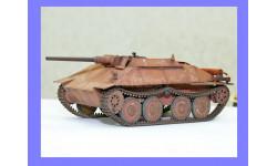 1/35 продажа модели танка 75 мм САУ АК7Б Хетцер (Гетцер) на шасси танка 38Д Германия 1945 металлические траки, масштабные модели бронетехники, коллекция Дмитрия Стопского, 1:35