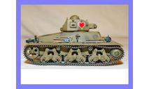 1/35 продажа модели легкого танка Гочкис Аш-35 Франция 1935 год конверсия металлические гусеницы, масштабные модели бронетехники, коллекция Новостройки СПб, 1:35