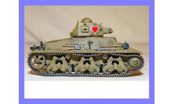 1/35 продажа модели легкого танка Гочкис Аш-35 Франция 1935 год конверсия металлические гусеницы