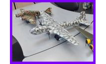 1/48 продаю модель самолета Хейнкель Хе-177 А-5 Грифон немецкого тяжелого бомбардировщика + две планирующие бомбы Хеншель Хс 293, масштабные модели авиации, коллекция Новостройки СПб, scale48