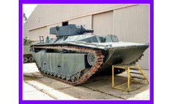 1/35 продажа сборной модели плавающего танка ЛВТ А5 Аллигатор  открытая башня 75 мм гаубица США 1945 год Нитто 15084-1500