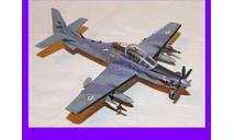 1/48 продаю модель самолета Эмбраер ЕМБ 314 Супер Тукано ударный и учебно тренировочный самолет Бразилия, масштабные модели авиации, коллекция Новостройки СПб, scale48