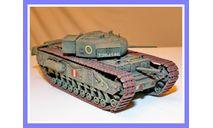 1/35 продажа модели двухпушечного танка А22 пехотный танк Марк 4 Черчилль 1 Британская империя 1940 год, масштабные модели бронетехники, коллекция Новостройки СПб, scale35