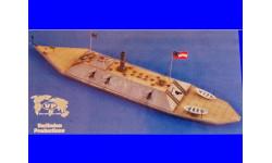 1/200 продажа сборной модели военного корабля, броненосца монитора конфедератов СмЭсЭс Атланта времен войны Севера и Юга в США Верлинден 2120, сборные модели кораблей, флота, коллекция Новостройки СПб, scale144, корабль