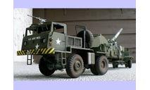 продаю сборную модель 280 мм 'атомной' пушки М65 армии США 1/40, сборная модель автомобиля, танк, коллекция Новостройки СПб, scale35