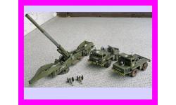 продаю сборную модель 280 мм 'атомной' пушки М65 армии США 1/40, сборные модели артиллерии, танк, коллекция Дмитрия Стопского, 1:35, 1/35