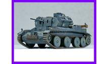 1/35 продажа модели танка Панцеркампфваген Мк 4 744 (е) это трофейный английский танк А13 Марк 2 крейсерский танк Марк 4, масштабные модели бронетехники, коллекция Новостройки СПб, scale35