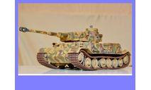 1/35 продажа модели танка Т-6 Тигр Порше, ВК 4501П, Порше тип 101,обмазанного циммеритом (на модели-ручной работы) Германия 1942 год, масштабные модели бронетехники, коллекция Новостройки СПб, scale35