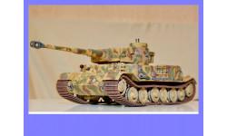1/35 продажа модели танка Т-6 Тигр Порше, ВК 4501П, Порше тип 101,обмазанного циммеритом (на модели-ручной работы) Германия 1942 год, масштабные модели бронетехники, коллекция Новостройки СПб, 1:35