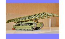 1/35 продажа модели инженерного танка ИТ-28 СССР, масштабные модели бронетехники, танк мостоукладчик, коллекция Новостройки СПб, 1:35