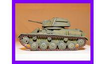 1/35 продажа модели легкого танка Т-80 СССР 1942 год, масштабные модели бронетехники, коллекция Новостройки СПб, scale35