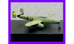 1/48 продаю модель самолета Хейнкель Хе-280 первого в мире реактивного истребителя совершившего самостоятельный полет