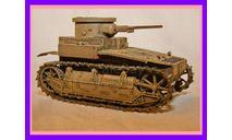 1/35 продаю модель легкого танка Т1Е2 Канингхем США 1927-30 годы, масштабные модели бронетехники, коллекция Новостройки СПб, 1:35