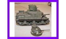 1/35 продажа модели Танка обороны канала на базе танка М3 Ли с секретной башней с прожектором, масштабные модели бронетехники, коллекция Новостройки СПб, scale35